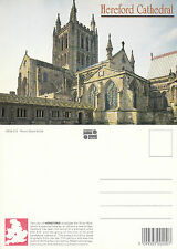 1980's HEREFORD CATHEDRAL HEREFORDSHIRE UNUSED COLOUR POSTCARD