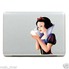 Snow White Dibujos Animados Decal Sticker Macbook Pro 15 Gracioso Mac Book Air Portátil Piel