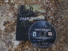 PS3 Dark Souls II Black Armor Edition Sony PlayStation 3 Game Disc & Metal Case