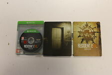 RESIDENT EVIL 7 Collectors Edition Steelbook - XBOX ONE - VERY GOOD CONDITION