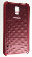 OEM Samsung Galaxy S5 Sport G860P Battery Door Back Cover - Red