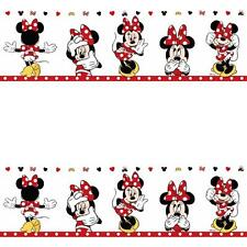 GALERIE OFFICIAL DISNEY MINNIE MOUSE CHILDRENS NURSERY WALLPAPER BORDER MN3502-1
