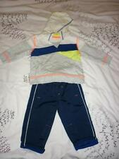 GEORGE BABY BOYS 2 PC SWEATSHIRT + TROUSERS 6-9 MONTHS WORN ONCE