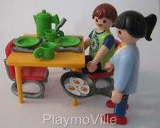 Playmobil Eggs for breakfast NEW dollshouse furniture & figure set