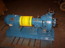 GOULDS 3196 DIE CAST CENTRIFUGAL PUMP 1.50X3-13 10 HP MOTOR 460 VOLT 180 GPM