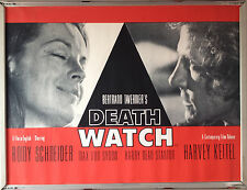 Cinema Poster: DEATHWATCH 1980 (Quad) Romy Schneider Harvey Keitel