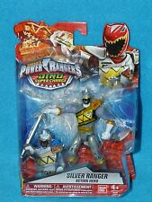 Power Rangers Dino Super Charge Silver Ranger Action Hero Figure #43246