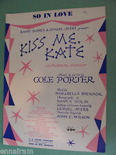 So in Love from Kiss Me Kate by Cole Porter 1948
