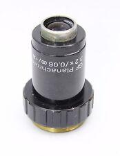 Zeiss Jena GF Planachromat 3.2x 0.06 Infinity Microscope Objective M25 Jenamed