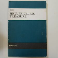 vocal score BACH -  JESU PRICELESS TREASURE , NOVELLO
