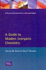 Guide to Modern Inorganic Chemistry
