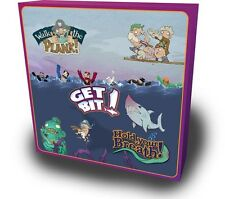 Walk The Plank! & Get Bit! & Hold Your Breath! Edition (3 In 1 Board Game) NEW