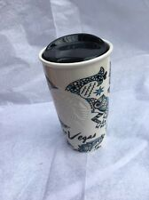 Starbucks 2015 Ltd Edition Siren Las Vegas Collection Ceramic Travel Tumbler Mug