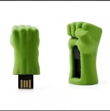 Hulk Hand New USB Flash Drives Cute Gift box32G memory stick Marvel Movie Hero