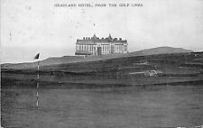POSTCARD   CORNWALL  HEADLAND  Hotel  from  the Golf  Links