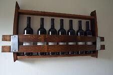 Wine Barrel Wine Rack - 7 bottle