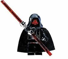 LEGO DARTH MAUL MINIFIG w/ LIGHTSABER Star Wars 1st issue sith minifigure sw003