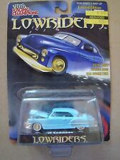 Diecast Racing Champions Lowriders 1949 '49 Cadillac Blue MOC 1.64 2000