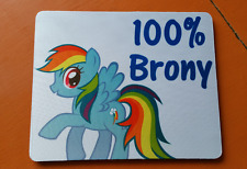 My Little Pony Brony Bronies Mouse Mat Pad PC & Laptop Gaming