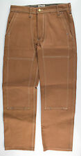 New. H.W. CARTER'S and SONS Brown Cotton Denim Jeans Pants Size 29 $245