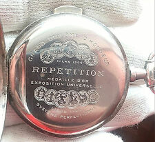 REPETITION 84 SILVER CASE 0.875 WORKS - FOR REPAIR