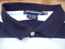 TP1940 Ralph Lauren Sport Poloshirt Kurzarm  Schwarz Weiß gestreift M Sehr gut