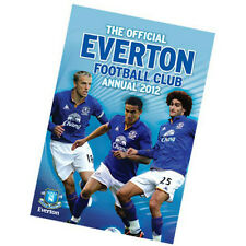 The Official Everton annual yearbook 2012 new Toffees English Premier League