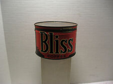 Vintage BLISS Coffee Tin Can  1 Pound  With Lid