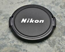 Retro Genuine Nikon NIKKOR 62mm Snap-on Front Lens Cap Japan (#1391)