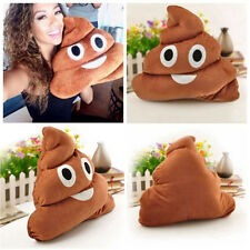 Pillow Cushion Emoji Poo Shaped Face Dolls Toys Poop Emoticon Soft Pillows