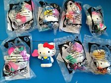 MCDONALDS 2014 HELLO KITTY SET OF (8)...(RECALLED TOY WHISTLE HAS BEEN REMOVE)