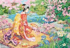 Jigsaw Puzzle Ethnic Japanese Haru No Uta 2000 pieces NEW Made in USA