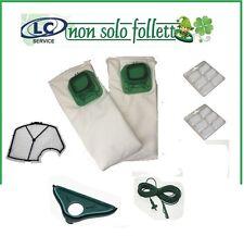 Vorwerk Folletto vk 140/150 12 sacchetti + 12 profumi + 1 filtro + cavo + setola