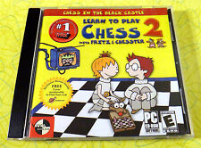 Fritz & Chesster 2: Learn To Play Chess ~ PC CD Rom Game ~ Windows Computer