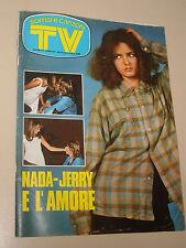 TV SORRISI CANZONI=1974/5=NADA=MIA MARTINI=ASCOLI CALCIO=DRUPI=FELLINI=PROIETTI=