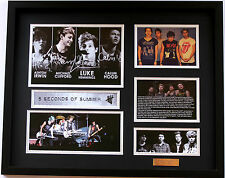 New 5 Seconds of Summer 5SOS Signed Limited Edition Memorabilia