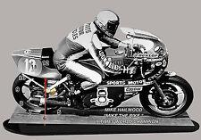 MINIATUR MODELL MOTORRAD in der Uhr, MIKE HAILWOOD, HONDA -02