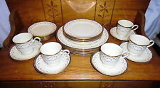 Lenox China Dinner Set - Terrace Rose - Service For Five