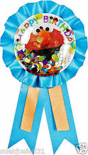 Sesame Street Elmo Confetti Guest of Honor Award Ribbon 1ct Party Favor Supplies