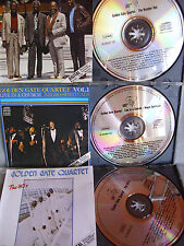 Golden Gate Quartet- The 80´s/Live in a Church I/The Number One- 3CDs No Barcode