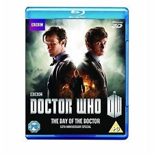 Doctor Who - The Day Of The Doctor - 50th Anniversary Release (3D Blu-ray, 2013)