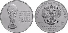 3 Rubel Russland St 1 Oz Silber 2018 FIFA World Cup in Russia Football 2017 Unc