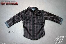 Nat Chan Custom made 1/6 Scale Patterned Shirt For Rick Grimes Custome