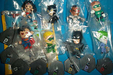 DC GRAB ZAGS Series 1 FULL SET of 8! BLIP Minis Catwoman Green Arrow Lantern LOT