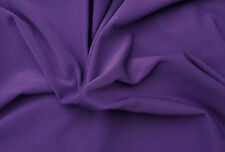 Purple Poly Nylon Spandex Fabric Heavy Weight Activewear Fabric by Yard 11/15