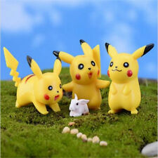 FD3549 Miniature Dollhouse Garden Craft Fairy Bonsai Decor Pokemon Pikachu~ 1PC