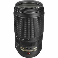 Nikon AF-S 70-300mm f/4.5-5.6G VR Zoom-NIKKOR IF-ED Telephoto Zoom Lens  *NEW*