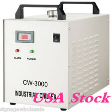 USA STOCK!!110V 60Hz CW-3000DG Water Chiller for 60/80W Laser Engraving Machine