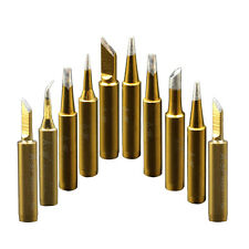 10pcs 900M Soldering Iron Tips for Hakko TENMA Maplin Yihua Aoyue Atten Station