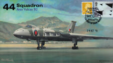 AV600 Avro Vulcan 44 Sqn RAF cover LAST Flight XH558 postmark 28 Oct 2015